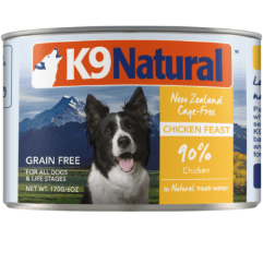 K9 Natural Chicken Feast Can